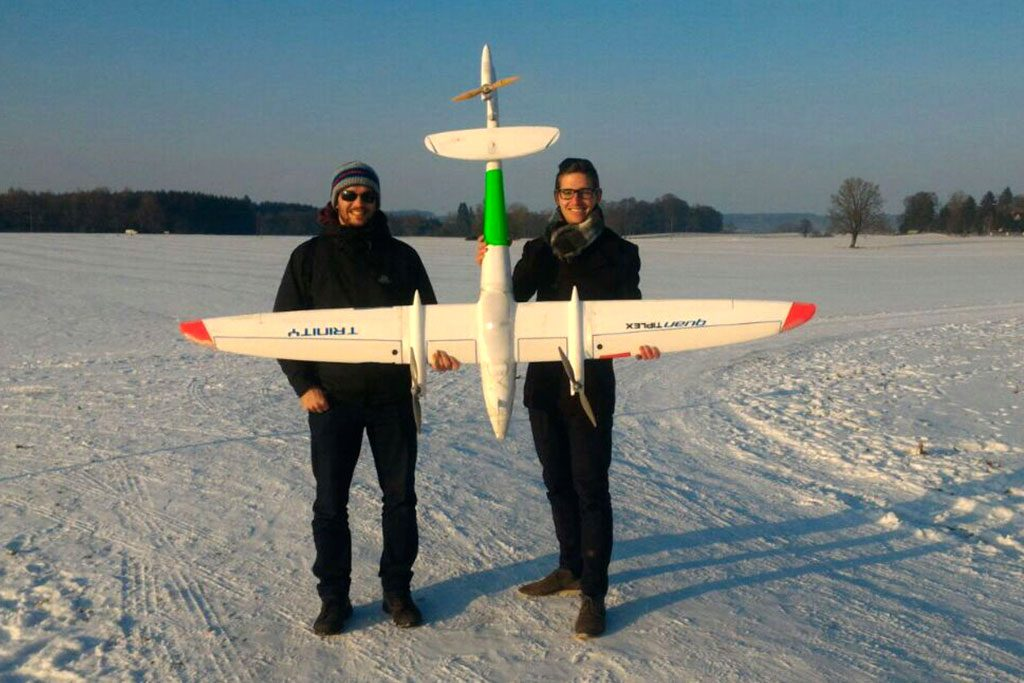 Quantum-Systems Trinity Maiden Flight