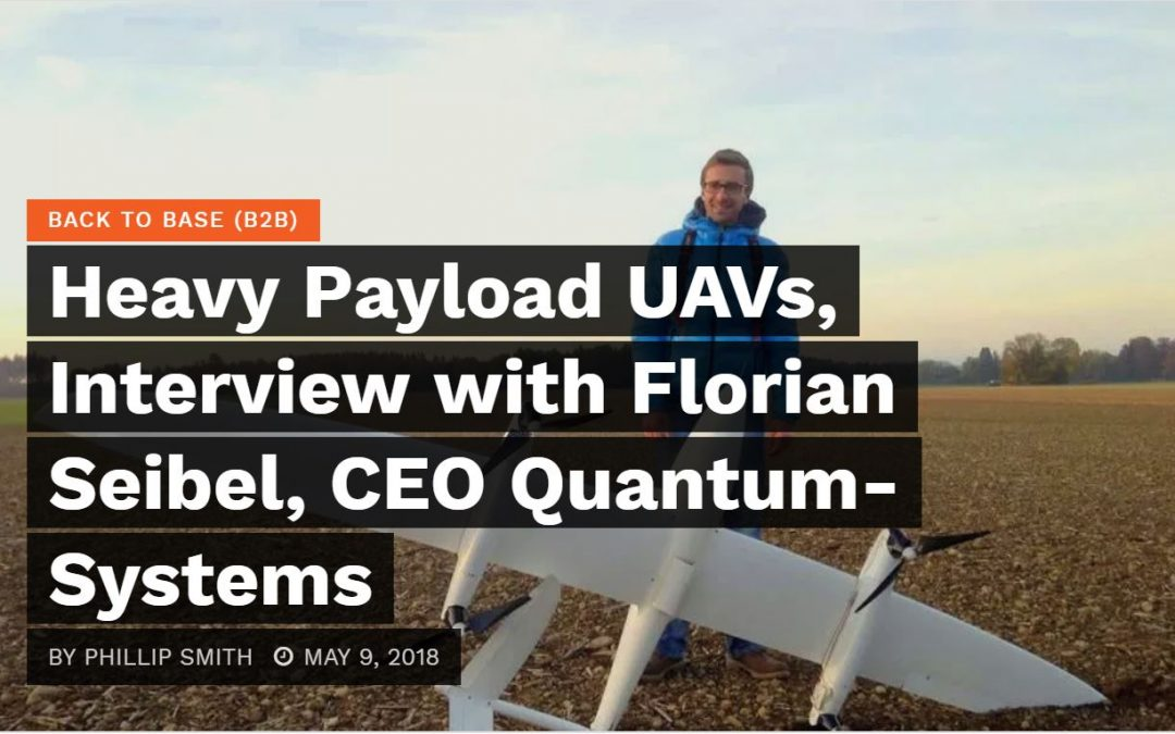 CEO Florian Seibel in an interview with DroneBelow