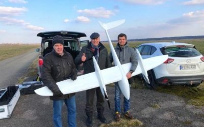 First approved Beyond-Visual-Line-of Sight (BVLOS) UAV flight in Germany
