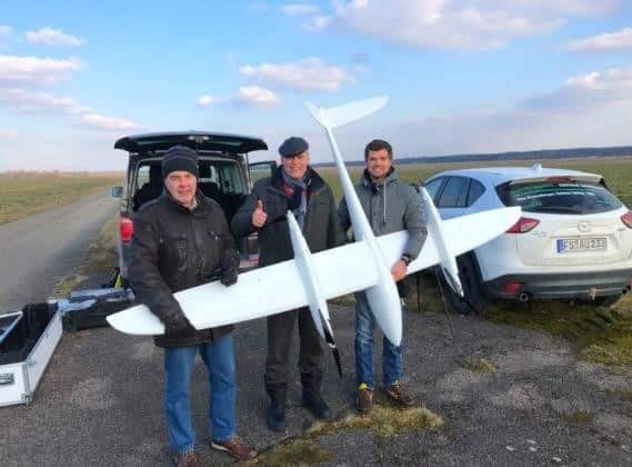First Flight Beyond visual line of sight (BVLOS) in Germany