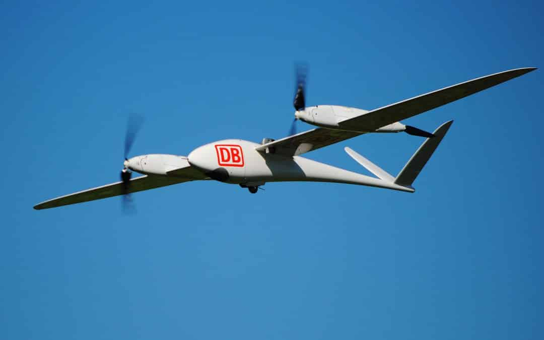 Quantum-Systems supplies drone technology to inspect Deutsche Bahn's infrastructure