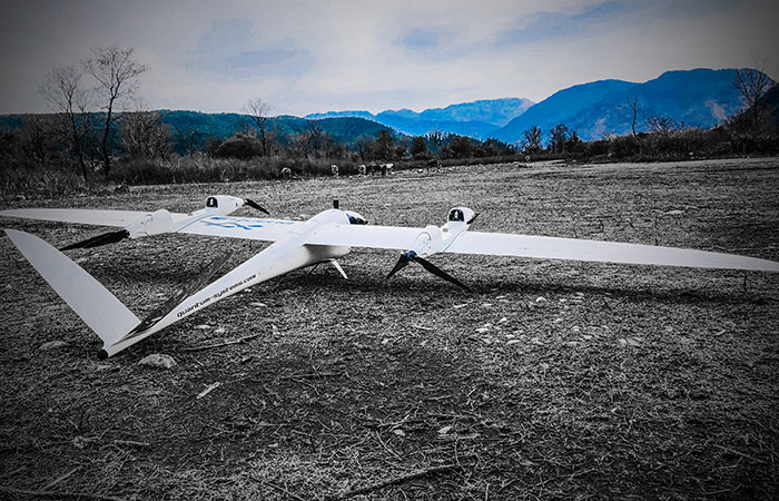 Tron F9 - The high payload long-range UAV - Quantum-Systems