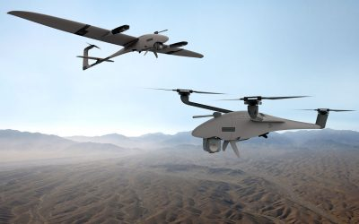 Quantum-Systems and ESG present UAS world novelty: Vector and Scorpion