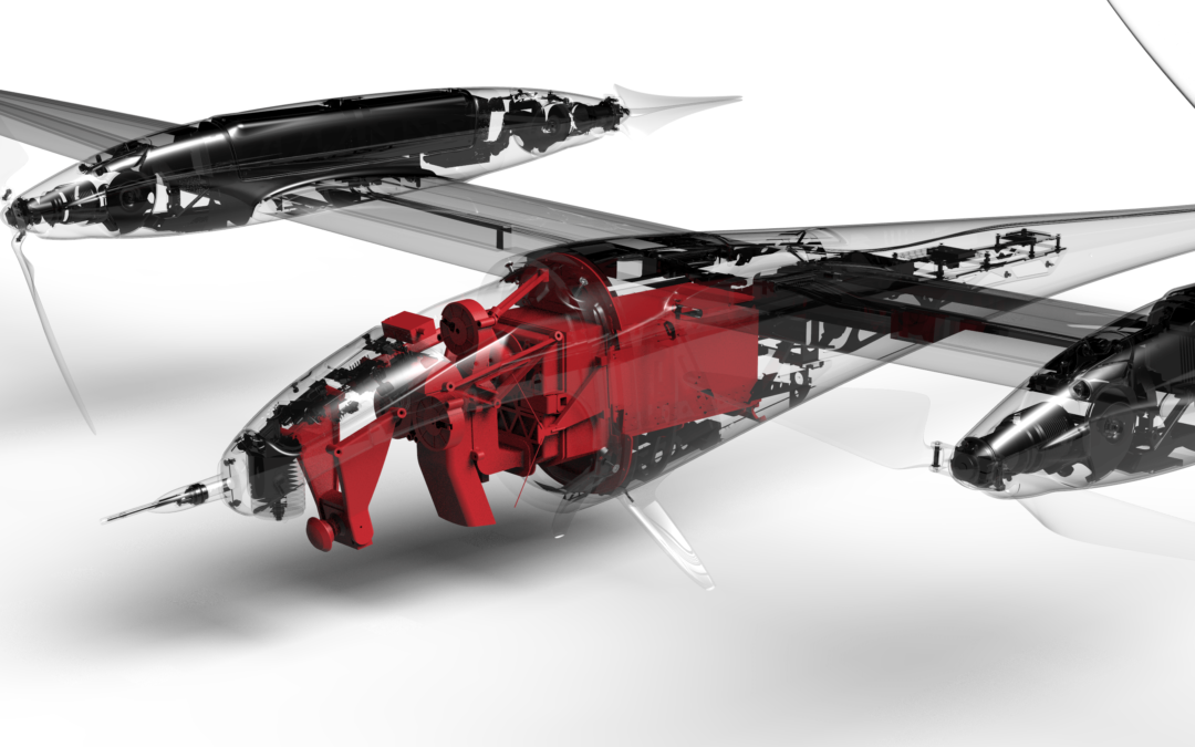 SANBS showcases a life-saving drone on the Quantum-Systems Tron UAV platform