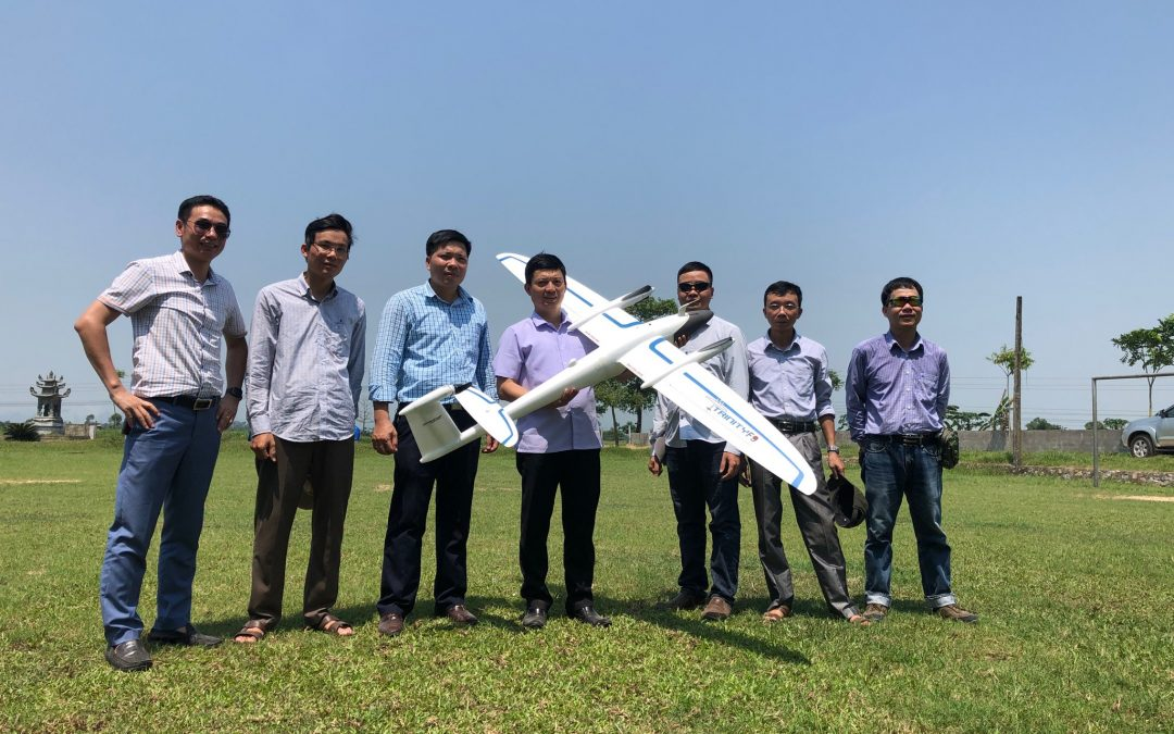 Quantum-Systems expands in Vietnam with DTSM (Dai Thanh Surveying Mapping)