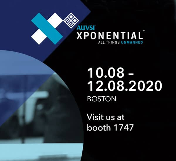 AUVSI XPONENTIAL @ AUVSI XPONENTIAL 2020 | Boston | Massachusetts | USA