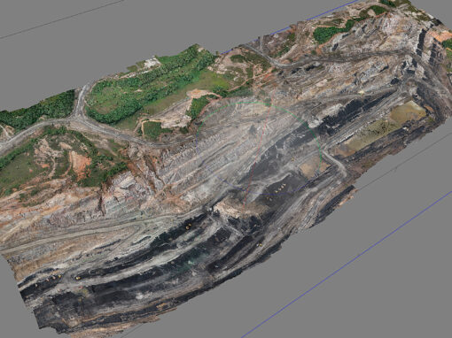 UseCase_Coal pit aerial mapping – Pt. Byte Geo Solusi – Indonesia