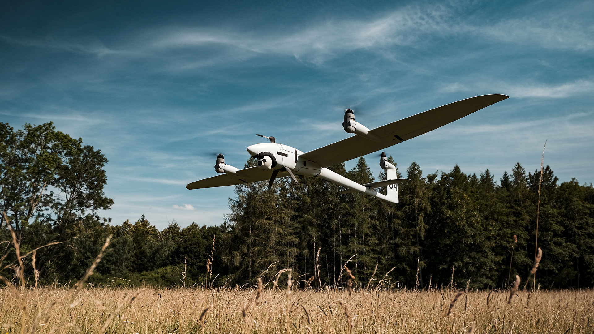 Quantum-Systems Vector UAV use case fire fighting and fire prevention