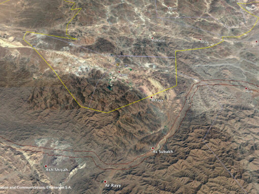 UseCase_Topographic survey – Renardet S.A. & Partners Consulting Engineers – Oman